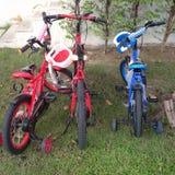 Vélo d'enfant Images libres de droits