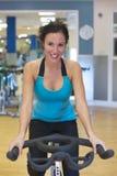 Vélo d'exercice Photo stock