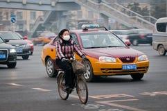 Vélo dans Pékin Photo libre de droits