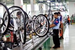 Vélo de bicyclette d'Assemblée d'Indonésie Photo stock