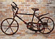 Vélo de brique Photographie stock libre de droits