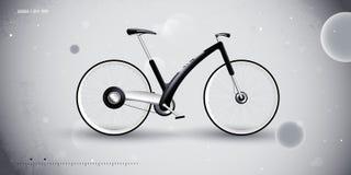 Vélo de concept pour le transport urbain. produit illustration de vecteur