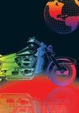vélo de couleur Photo libre de droits