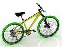 Vélo de couleur Photographie stock libre de droits