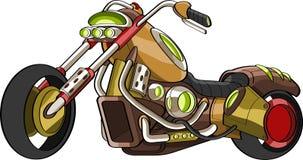 Vélo de découpeur personnalisé par fantaisie illustration de vecteur