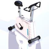 Vélo de forme physique illustration de vecteur