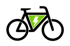 Vélo de l'icône e d'illustration illustration de vecteur