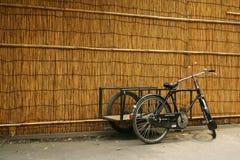 Vélo de la distribution Photographie stock