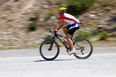 Vélo de montagne Images libres de droits