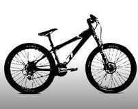 Vélo de montagne illustration stock