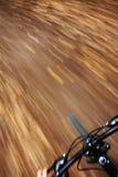 Vélo de montagne d'équitation Photos libres de droits