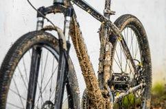 Vélo de montagne modifié Image stock