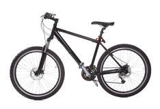 Vélo de montagne noir Photos libres de droits