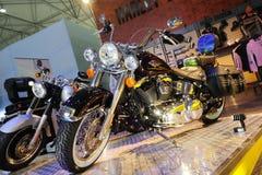 Vélo de moteur de Harley Image libre de droits