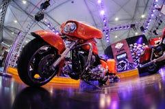 Vélo de moteur de Harley Photos stock