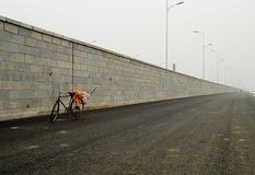 Vélo de nettoyeur Images stock