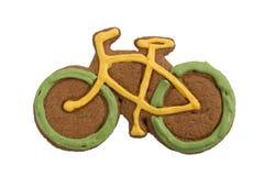 Vélo de pain d'épice Images stock