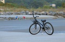 Vélo de plage Photo libre de droits