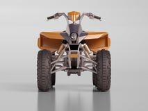 Vélo de quadruple d'Atv Photographie stock