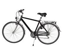 Vélo de route d'isolement - chemin de découpage Images stock