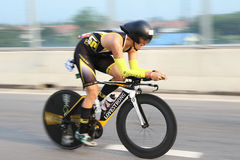 Vélo de triathlon Images libres de droits