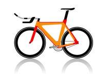 Vélo de vélodrome Illustration de Vecteur