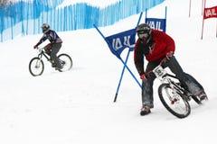 Vélo duel de slalom de Teva Photographie stock libre de droits