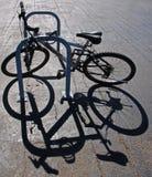 Vélo et ombre Photographie stock