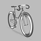 Vélo fixe de vitesse Images stock