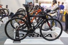 Vélo international 2017 de Bangkok La plus grande expo de recyclage de vélo dans la Thaïlande, la tendance du recyclage populaire Photographie stock libre de droits
