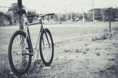 Vélo latéral de manière Image stock
