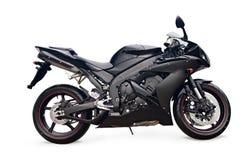 Vélo noir de sport Photo stock