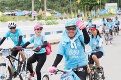 Vélo pour l'événement de lundi Photographie stock libre de droits