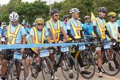 Vélo pour l'événement de lundi Image stock
