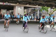 Vélo pour la maman Photo libre de droits