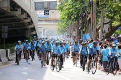 Vélo pour la maman Image libre de droits
