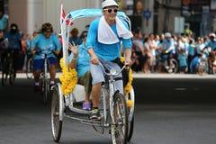 Vélo pour la maman Photo stock