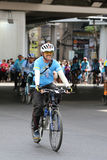 Vélo pour la maman Images stock