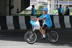 Vélo pour la maman Photographie stock libre de droits