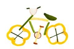 Vélo sain Photo libre de droits