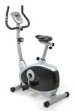 Vélo stationnaire. Machine de gymnastique image libre de droits
