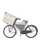 Vélo sur le blanc Image libre de droits