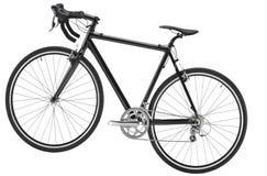 Vélo sur le fond blanc image libre de droits