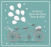 Vélo tandem Image stock