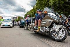 Vélo Ukraine 2016 de musique Photographie stock libre de droits