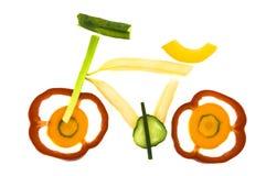 Vélo végétal Photographie stock libre de droits