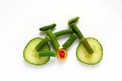 Vélo végétal Photo stock