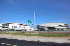 Vélodrome de Rio 2016 Jeux Olympiques Photo libre de droits