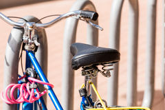 Vélos à louer photo stock