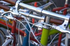 Vélos à Manhattan Image libre de droits